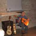 Dave Gibbon at the Tithe Barn